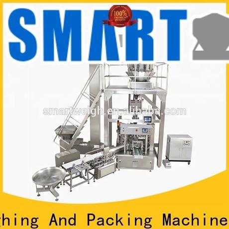 Smart Weigh pack frozenfresh candy bar packaging machine factory for salad packing