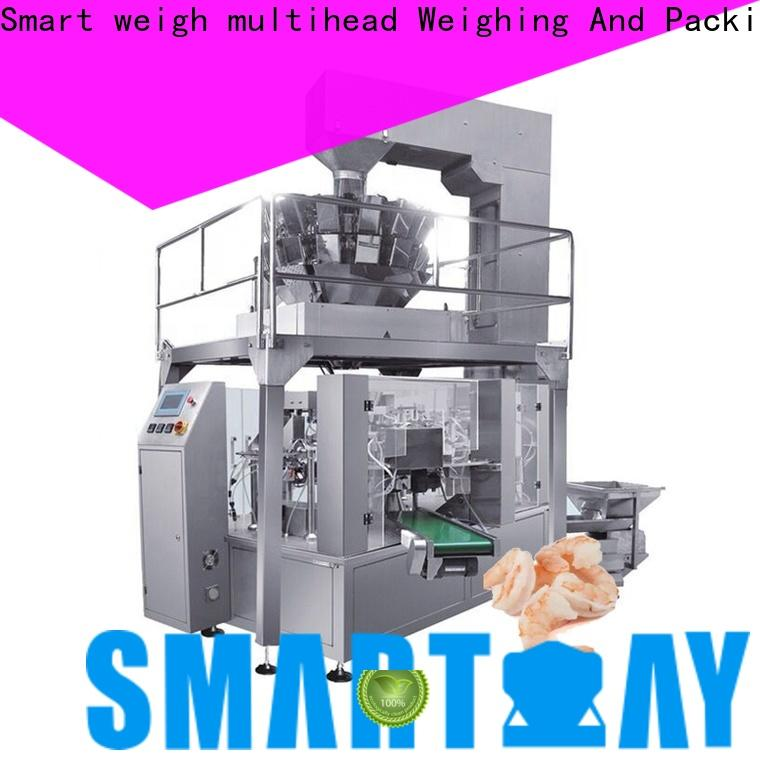 Smart Weigh pack high-quality biscuit packing machine for frozen food packing