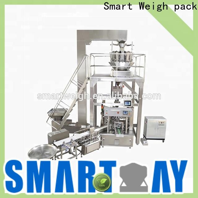 Smart Weigh pack sticky cookie packaging machine supply for meat packing
