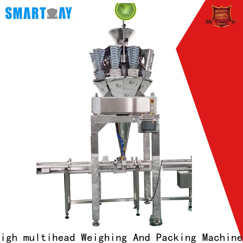Smart Weigh pack high-quality automatic bottle filling machine company for meat packing