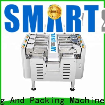 Smart Weigh pack granule multihead weigher from manufacturer for foof handling