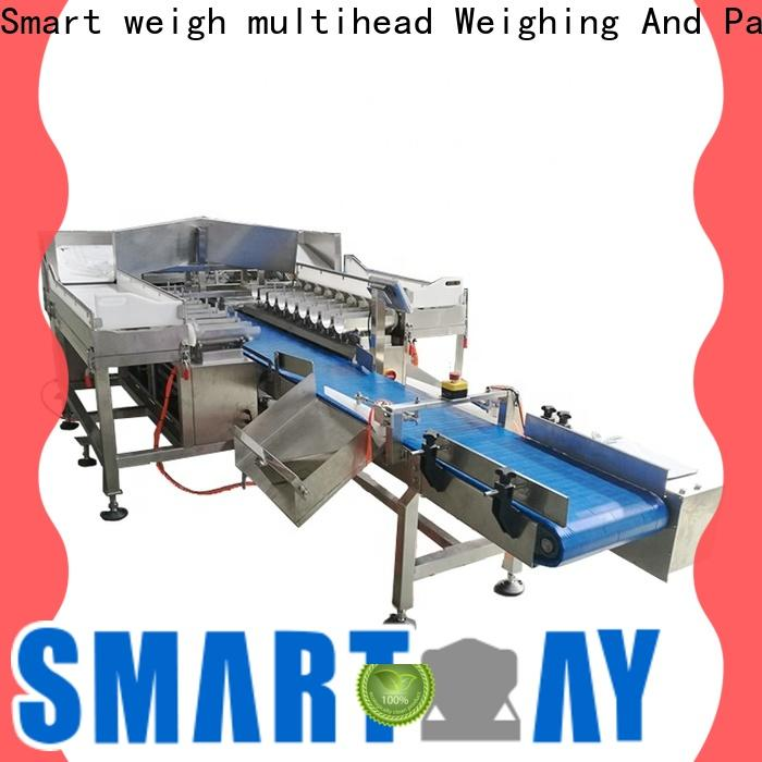 Smart Weigh pack steady weigher machine manufacturers for food packing