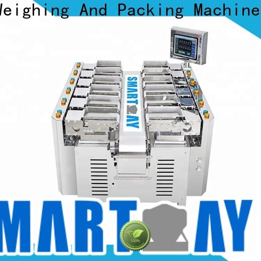 Smart Weigh pack small multihead weigher factory price for food weighing