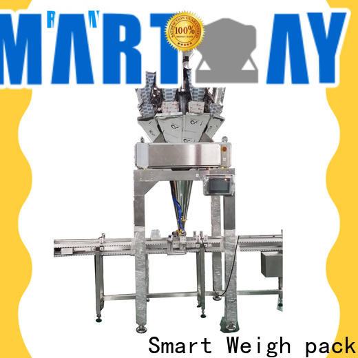 Smart Weigh pack modular vertical packaging machine company for frozen food packing