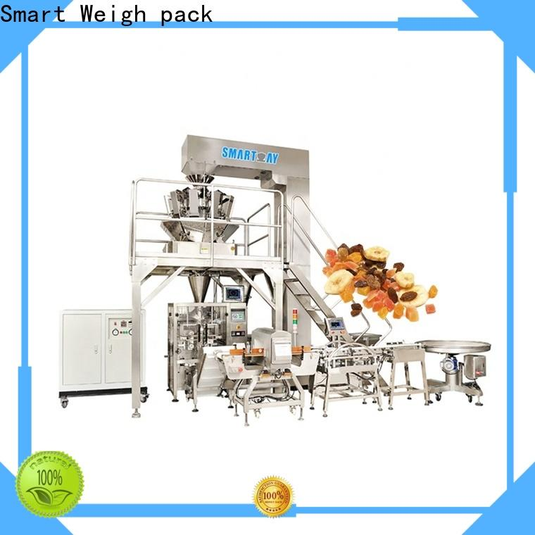 Smart Weigh pack swpl4 automatic vertical packing machine for food weighing