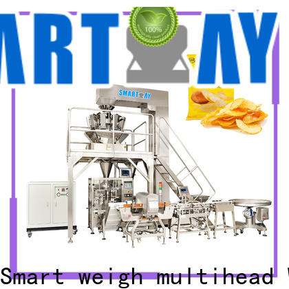 Smart Weigh pack vertical form fill machine for meat packing