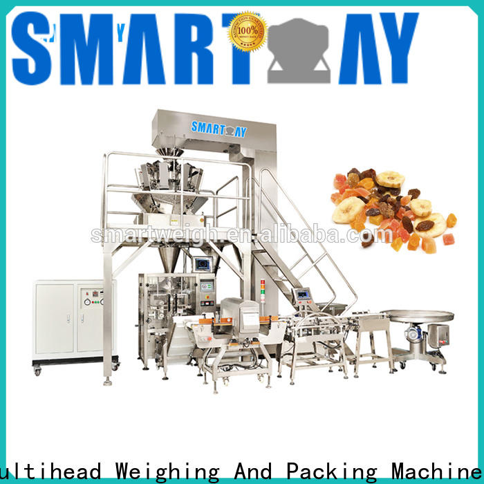Smart Weigh pack candied vertical pouch packing machine factory for food packing