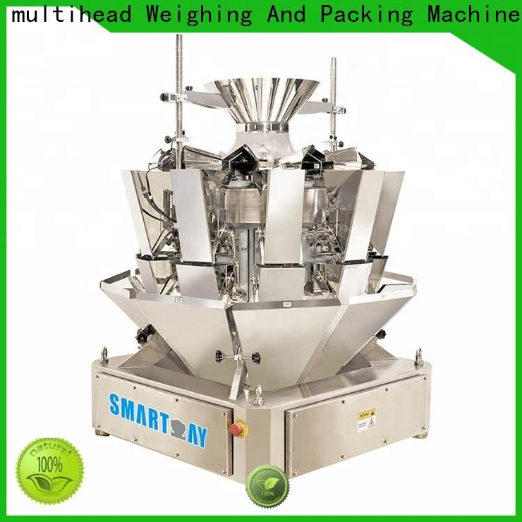 Smart Weigh pack design vertical filling machine factory for salad packing