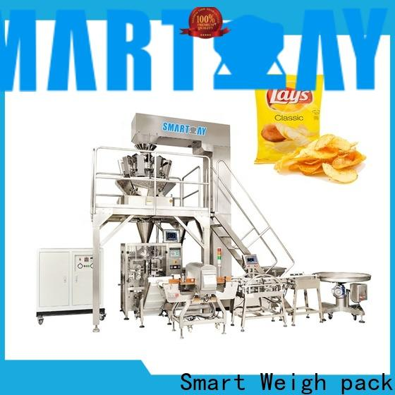 Smart Weigh pack linear vertical form fill and seal machines suppliers for meat packing