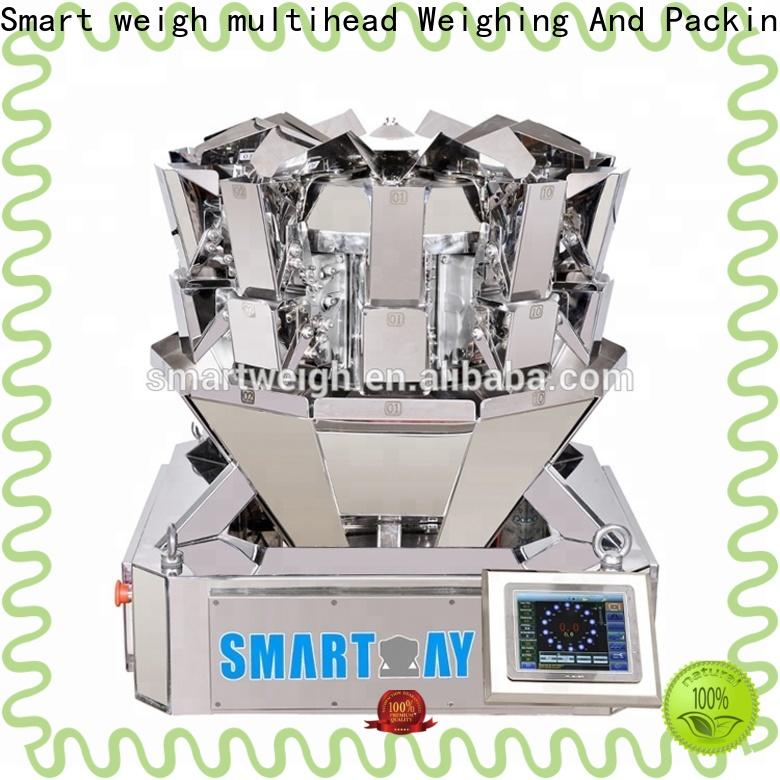 Smart Weigh pack easy-operating multihead weigher price from China for food weighing