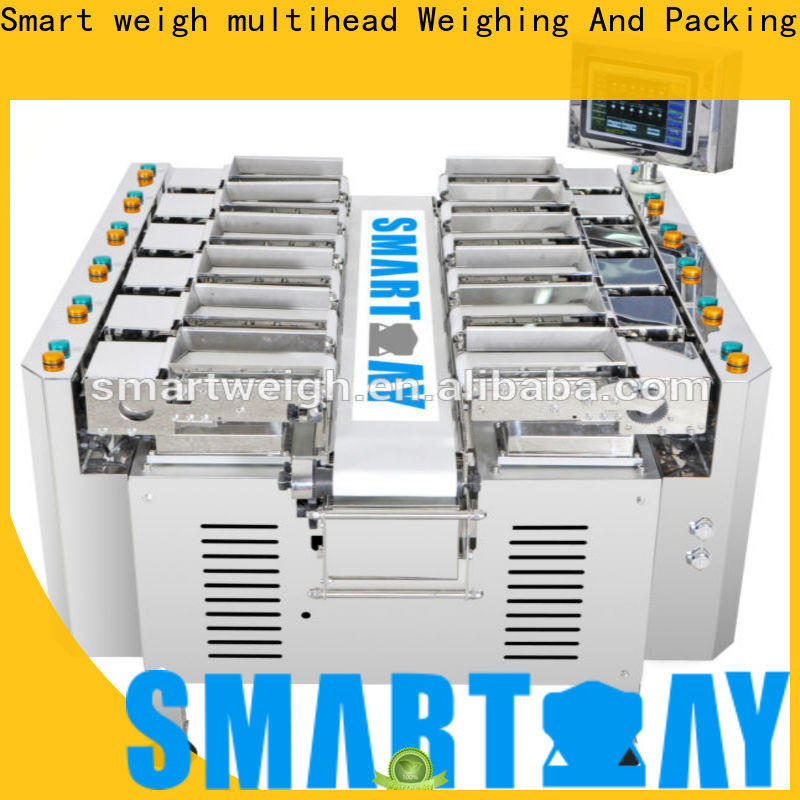 Smart Weigh pack meat channel linear weigher for food labeling