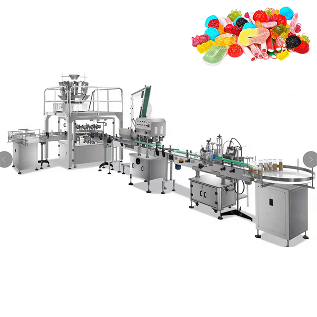 candy /spice /  cannabis filling and capping lableling smartweighpack system