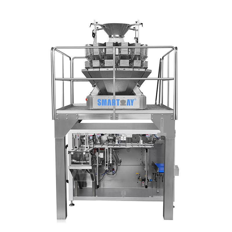 multihead weigher linear doypack packing system smartweighpack for snack
