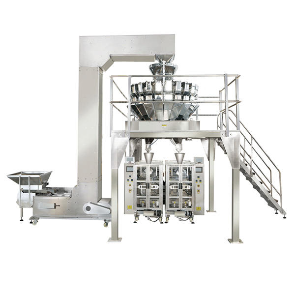 Smart Weigh - 20 Head multihead twin VFFS packing system