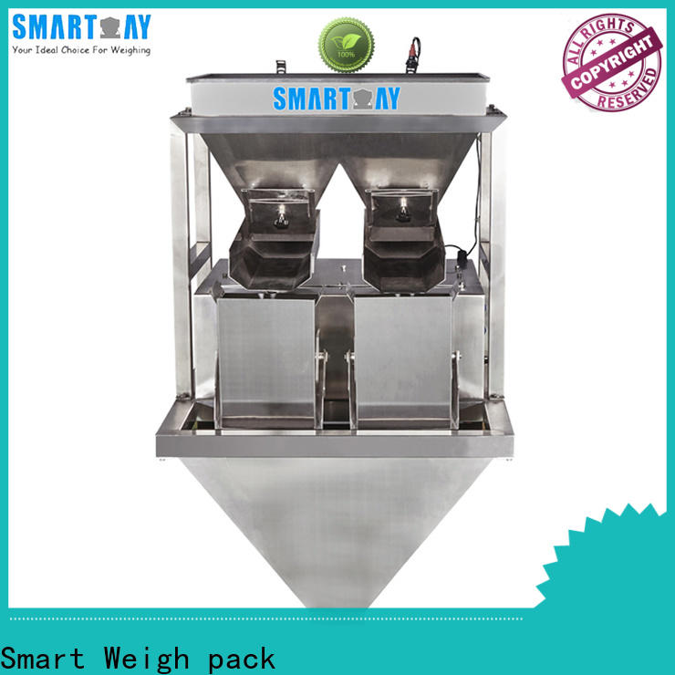 Smart Weigh pack scale linear multihead weigher for foof handling