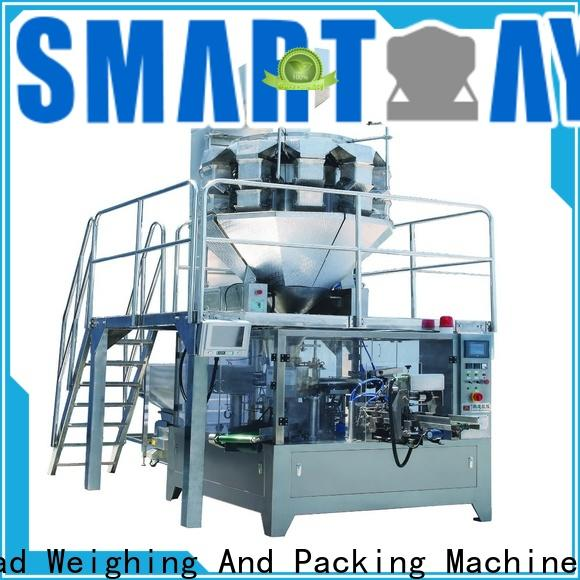 Smart Weigh pack best automatic sachet packaging machine with good price for food weighing