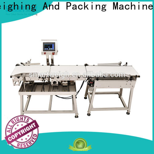 Smart Weigh pack best checkweigher for sale in bulk for food labeling