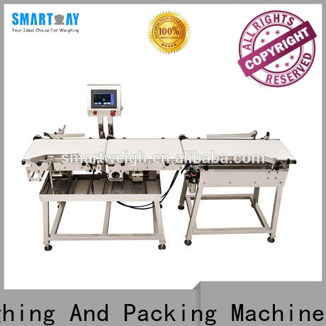 Smart Weigh pack weight check weigher machine with cheap price for foof handling