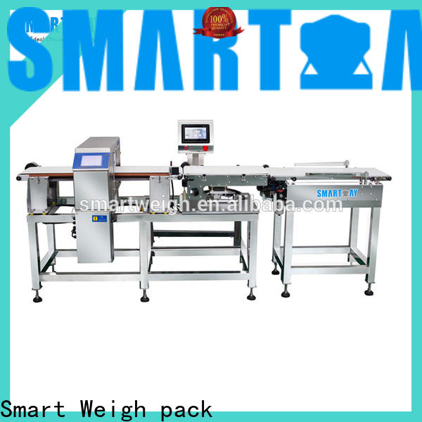 latest visual inspection machine metaldetector customization for food labeling