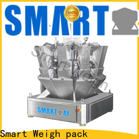 Smart Weigh pack candychocolatepeanutrice multihead customization for food packing