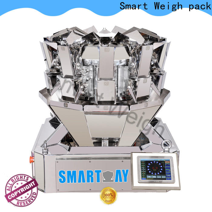 Smart Weigh pack easy-operating multihead weigher manufacturers from China for food packing