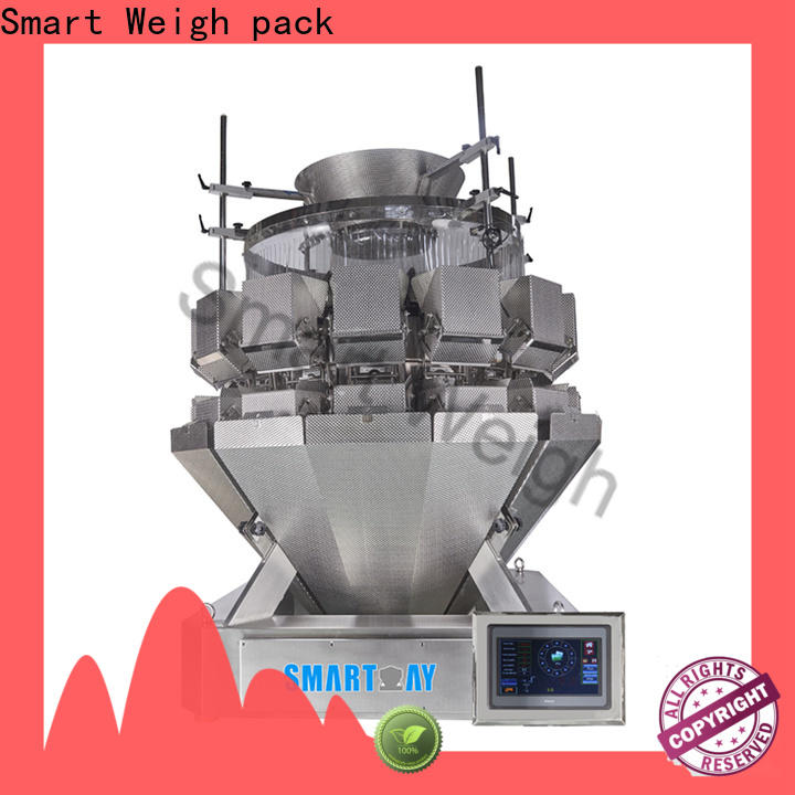 Smart Weigh pack steady small multi head weigher company for food weighing