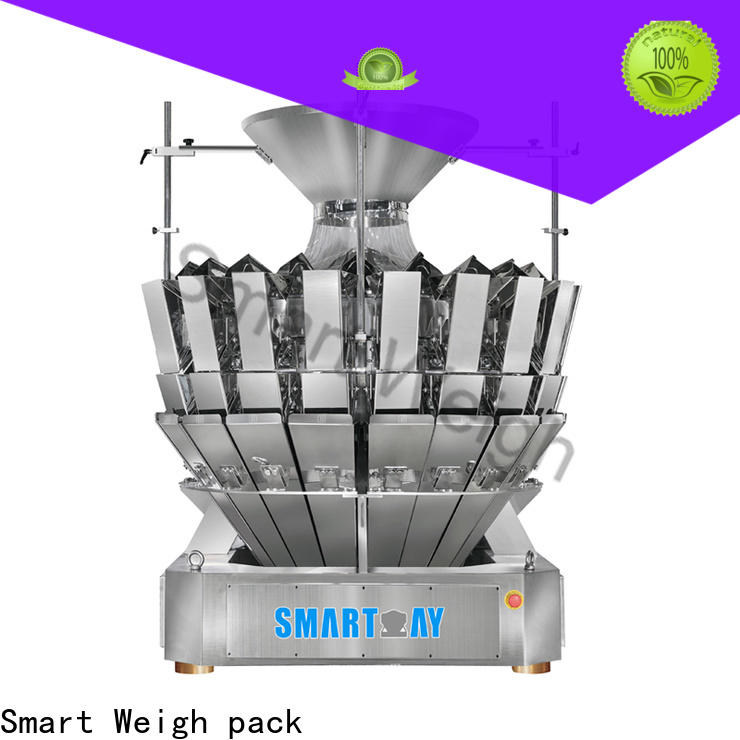 Smart Weigh pack eco-friendly weigher price directly sale for foof handling