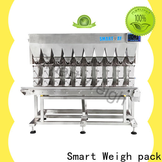 Smart Weigh pack shape automatic weighing suppliers for food labeling