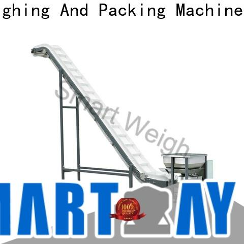 Smart Weigh pack table rotating conveyor table China manufacturer for food labeling