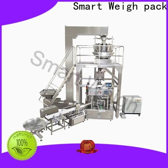 Smart Weigh pack latest easy packaging systems supply for food weighing