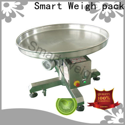 Smart Weigh pack accurate ladders and platforms with cheap price for food labeling