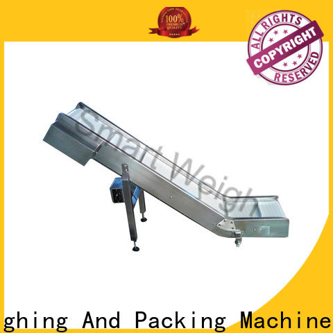 Smart Weigh pack food conveyor manufacturers with cheap price for foof handling
