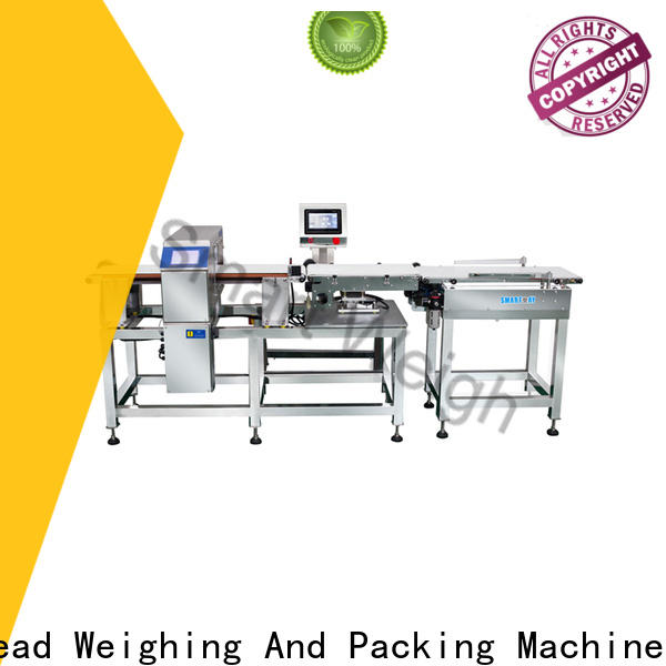 Smart Weigh pack weighing food metal detectors with good price for food labeling