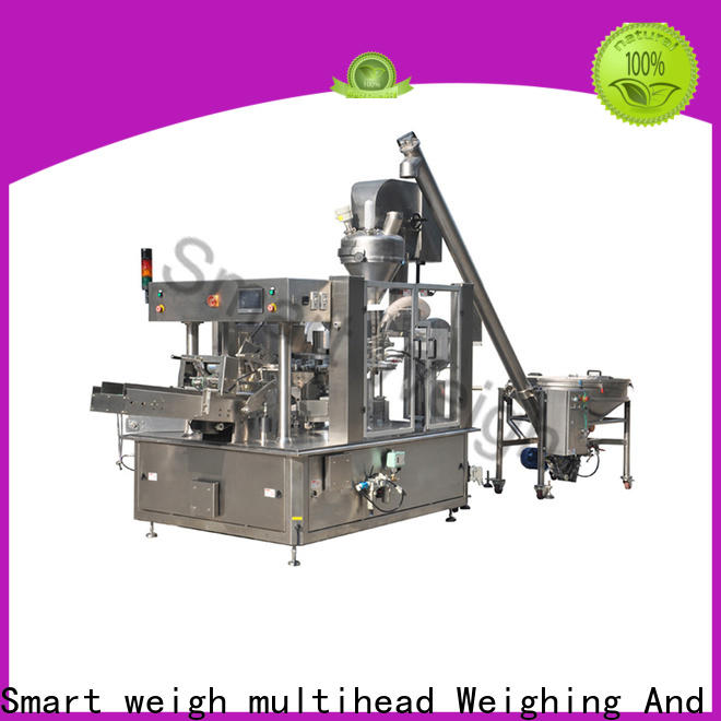 Smart Weigh pack beef plastic pouch packaging machine suppliers for food packing