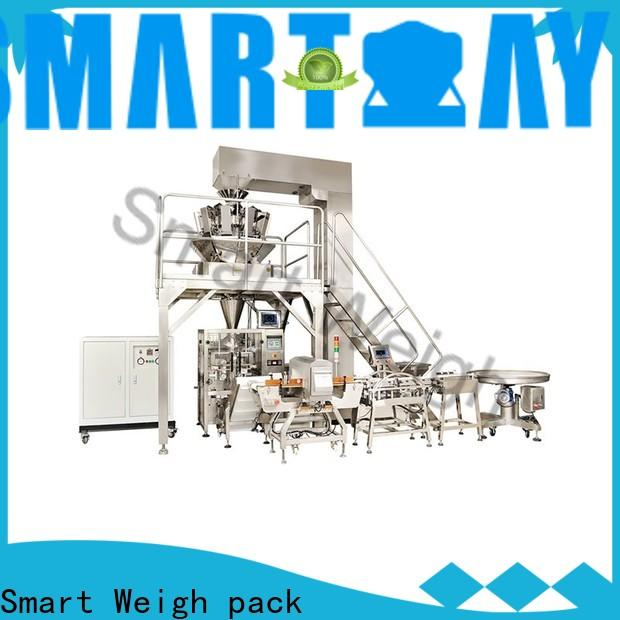 Smart Weigh pack 1kg vertical form fill machine supply for salad packing
