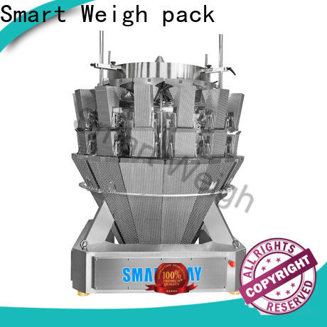 Smart Weigh pack adjustable multihead checkweigher factory for foof handling