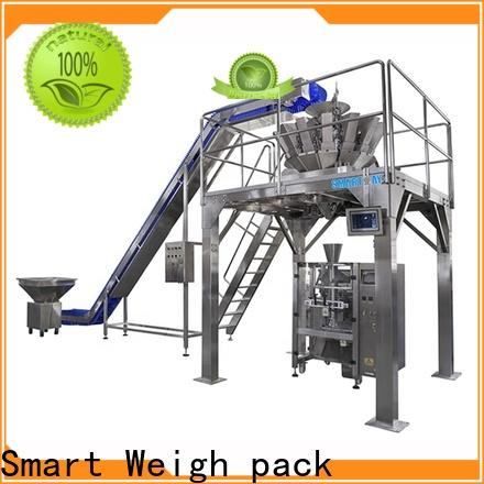 Smart Weigh pack top biscuit packing machine with good price for food packing