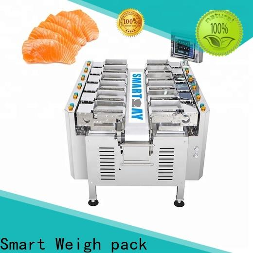 Smart Weigh pack easy-operating multihead weigher bulk production for food weighing