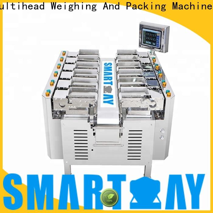 Smart Weigh pack head weigher check now for food packing