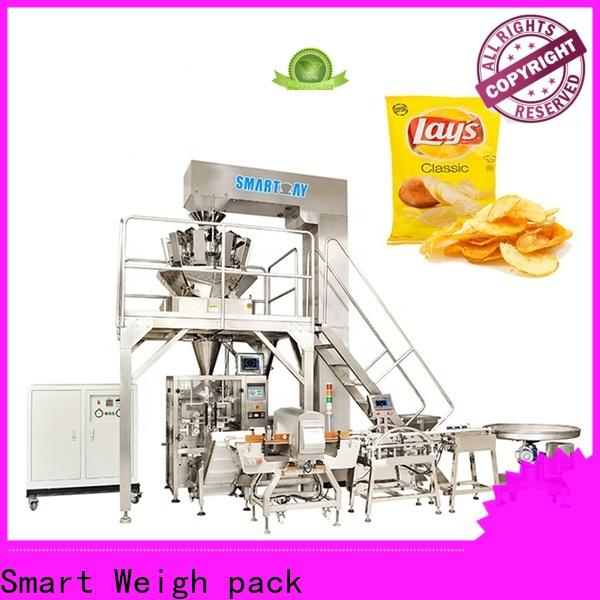 Smart Weigh pack automatic vertical filling machine suppliers for salad packing