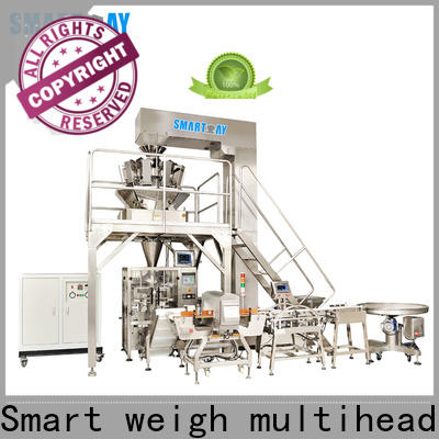 Smart Weigh pack low vertical pouch packing machine supply for meat packing