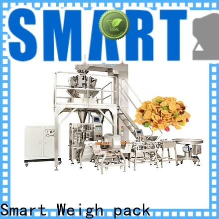 Smart Weigh pack fruitsnutsscrewcerealcorncandy vertical bagging machine supply for food packing