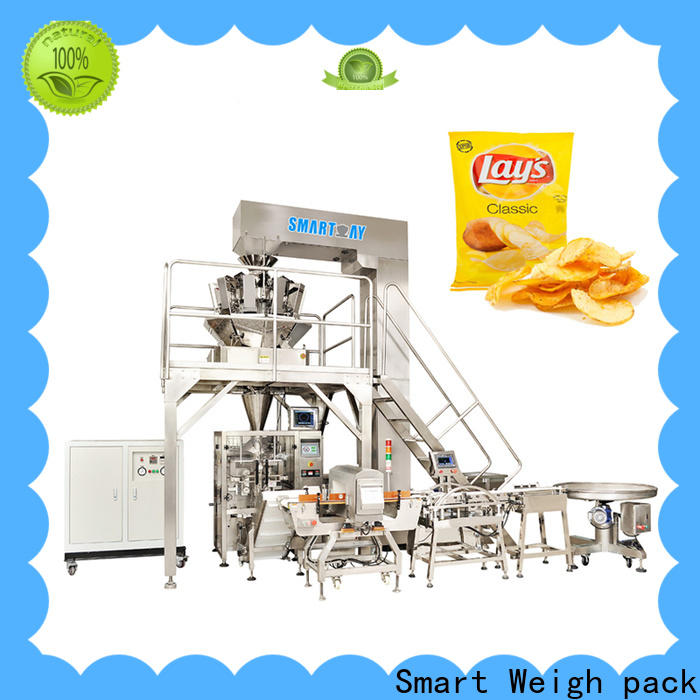 Smart Weigh pack top vertical form fill seal machine manufacturers for meat packing
