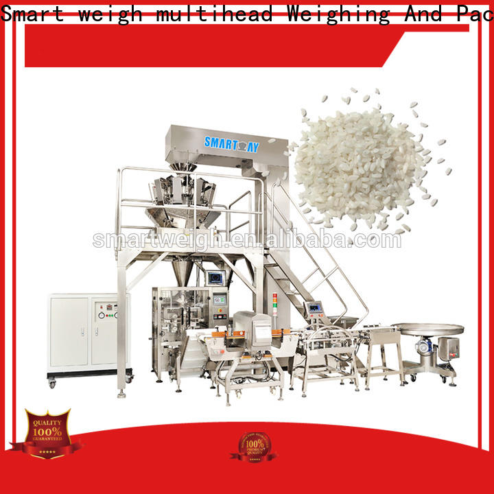 Smart Weigh pack latest vertical form fill and seal machines company for salad packing