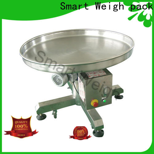 latest rotating table rotary customization for food labeling
