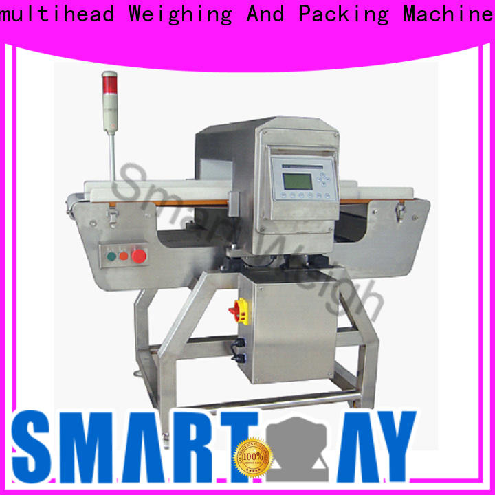 Smart Weigh pack checkweigher metal detector for bread industry with cheap price for food weighing