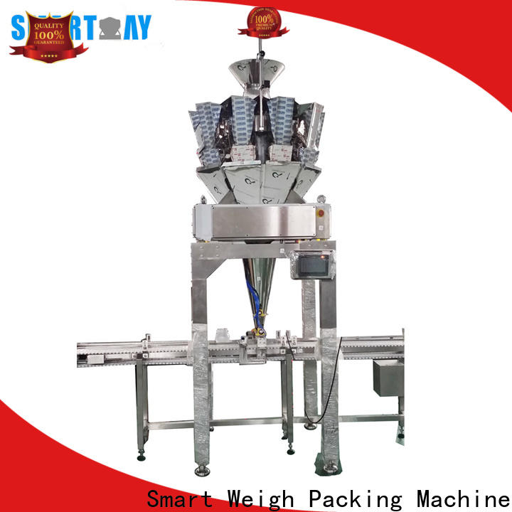 Smart Weigh Pack Smart weigh automatic filling machine for frozen food packing