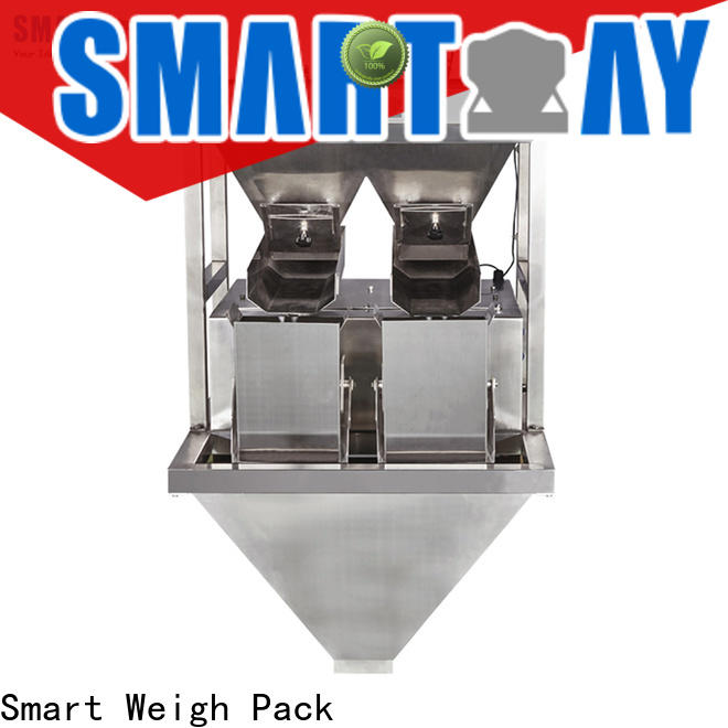 Smart Weigh Pack weighing machine model supply for food labeling
