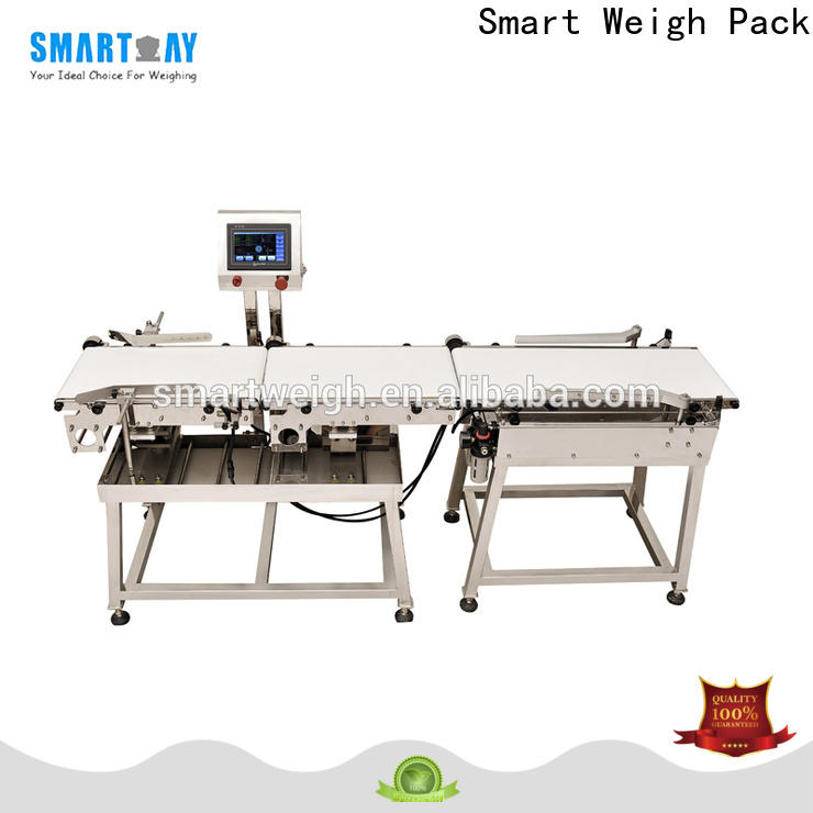 Smart Weigh Pack best inspection machine factory price for foof handling