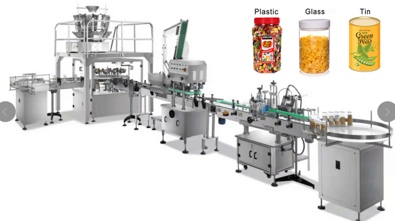 bottle filling and capping system